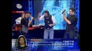 Стоян, Тома и Ивайло праваят трио - Music Idol 2 - 17.03.2008г. (супер качество)