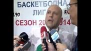 Тити Папазов: Взех реванш от Лукойл Академик
