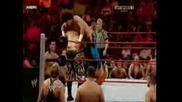R A W 04/06/2009 - Primo & Carlito vs. John Morrison & The Miz