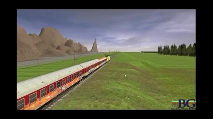 Междугарие в проект Trainz - Bg.com