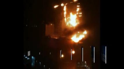 Пожар в мол