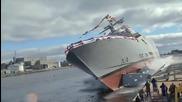 Спускане на кораби на вода за първи път