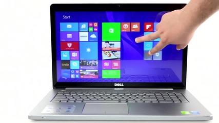 """17"""" Алуминиев Лаптоп с Тъчскрийн и чудовищен Хардуер"""