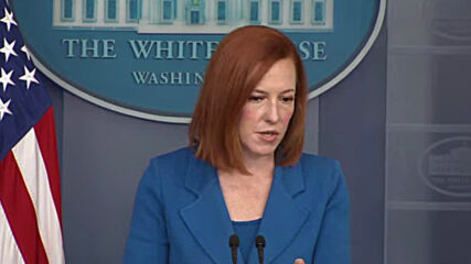 USA: Biden administration has 'serious concerns' about Israel unrest - WH Press Sec Psaki
