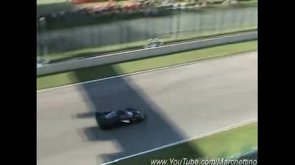 Ferrari Fxx Burnout and Acceleration