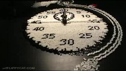 Часовник от Домино!