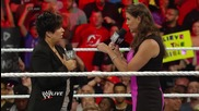 Stephanie Mcmahon gives Vickie Guerrero an ultimatum: Raw, June 23, 2014