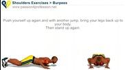Fitnes trenirovka za Gyrdi Ramene I triceps