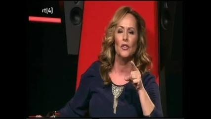 The voice of Holland - Sarina Voorn Блестящо изпълнение