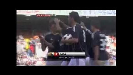 23.04.2011 Валенсия 0-3 Реал Мадрид първи гол на Кака