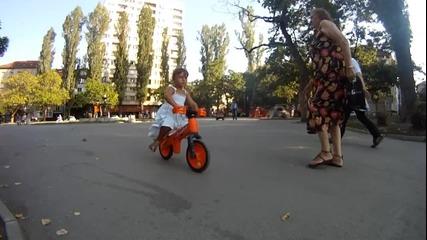 Децата и аз на колела