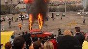 Лъвски скок в горящи пръстени - Антигравитация 2014 Мурманск