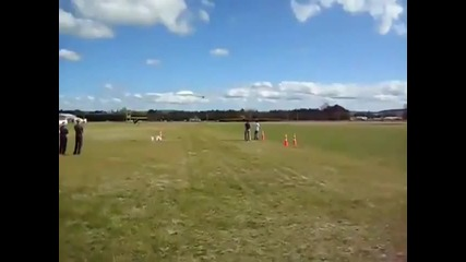 How not to land a plane