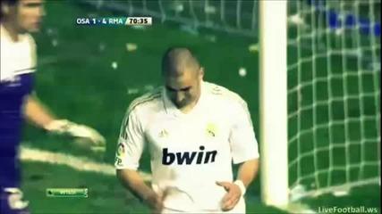 Osasuna vs Real Madrid 1-5 All Goals [31 03 12] ..
