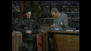 Marilyn Manson Interview On Letterman