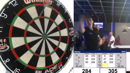 """Best Moments of """" Ruse Darts Open """" 2017"""