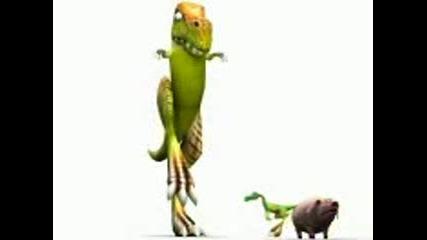 Прасе Пърди В Устата На Динозавър!!! Смях!