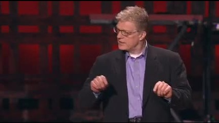 Sir Ken Robinson follow up speech about creativity