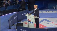 USA:  Trump damns the UN for overseeing Iran nuclear deal at AIPAC