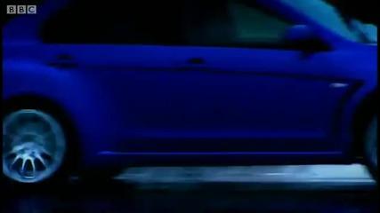 Mitsubishi Evo vs. Subaru Impreza (bbc)