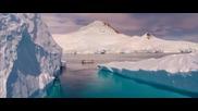 Великолепни въздушни кадри от Антарктида