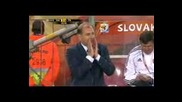 Fifa world cup 2010 Словакия - Италия полувреме 2