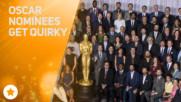 Странните пози на номинираните актьори за Оскар