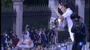 Реал Мадрид празнува на Сибелес