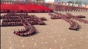 Синхронно обучение по бойни изкуства в Китай