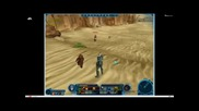 Star Wars: The Old Republic E3 2011 - Daniel Erickson Live Stream Gameplay part 1