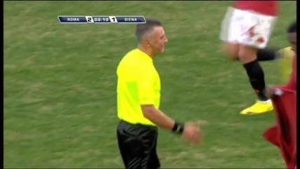 Roma vs. Siena - 2:1 Okaka ( Lud Komentator )