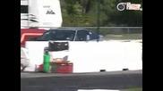 Honda Crx прави неща невиждани!!!