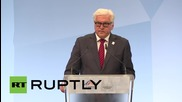 Germany: No interest in isolating Russia says FM Steinmeier