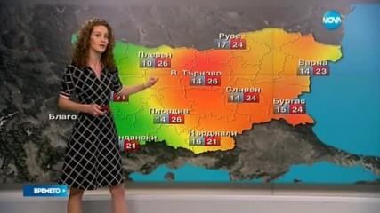Прогноза за времето (08.11.2016 - обедна емисия)