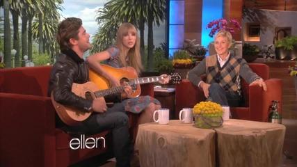 Sneak Peek_ Taylor Swift and Zac Efron Sing!