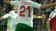 Дания - България 1-1 Гол на Манолев