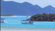 British Virgin Islands - Bubbly Pools and Foxy Sings at Jost Van Dyke Bvi Caribbean