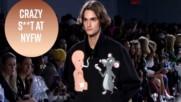 Пушещи бебета и напушени плъхове на седмицата на модата в Ню Йорк