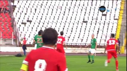 Преслав Йорданов отново блести за ЦСКА, вкара за 1:0