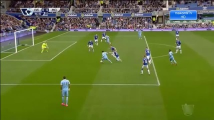 Евертън 0:2 Манчестър Сити/ Висша Лига