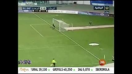 Уникален гол в Йордания