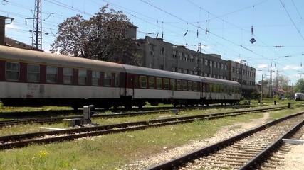 44 132 начело на влака за Варна и Бургас
