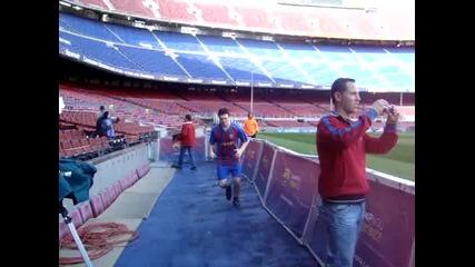 Camp Nou Voltron zagrqva