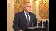Борисов: Харчим огромни пари за бежанците, фактически сме в Шенген