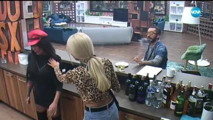 Цецо и Златка избухват срещу Емануела - Big Brother: Most Wanted 2018