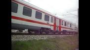 влак 4612 с нови спални вагони