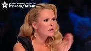 Необясним номер - Britains Got Talent 2010