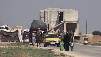 Syria: Displaced civilians return home through Abu al-Dhuhour corridor