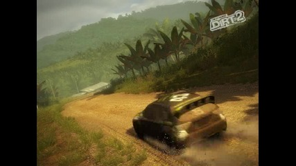 Colin Mcrae Dirt 2 repainting the Wrx in Malaysia