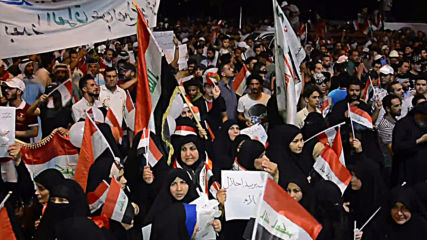 Iraq: Protesters back Sadr's call to stay out of US-Iran conflict